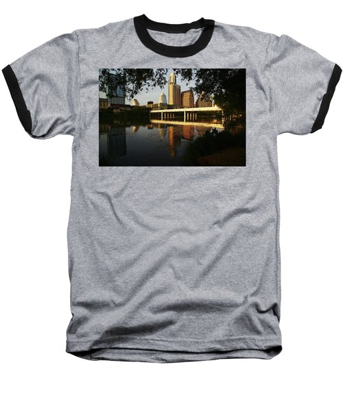 Evening Along The River Baseball T-Shirt