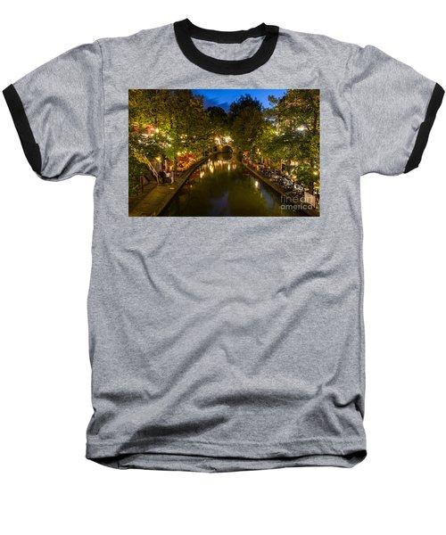 Evening Canal Dinner Baseball T-Shirt