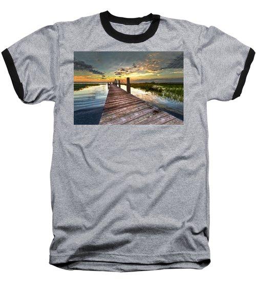 Evening Dock Baseball T-Shirt