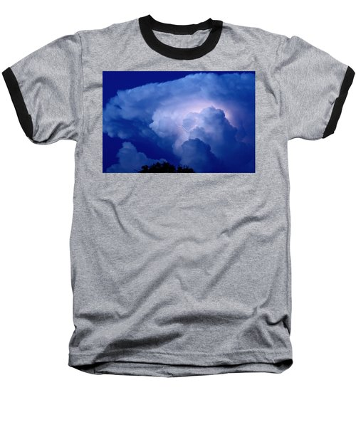 Baseball T-Shirt featuring the photograph Evening Giant by Charlotte Schafer