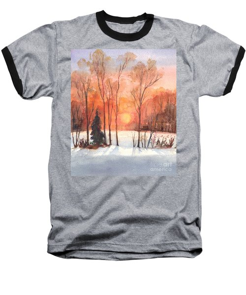 The Evening Glow Baseball T-Shirt