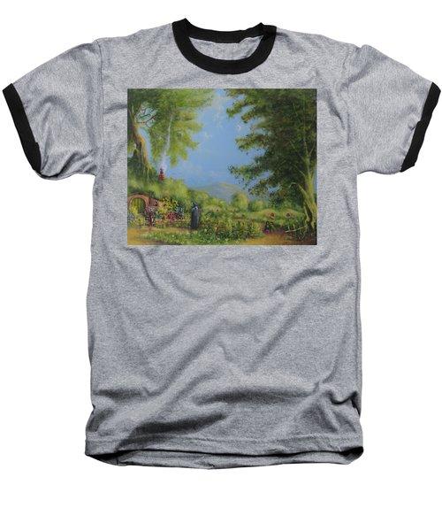 Evening In The Shire. Baseball T-Shirt by Joe  Gilronan