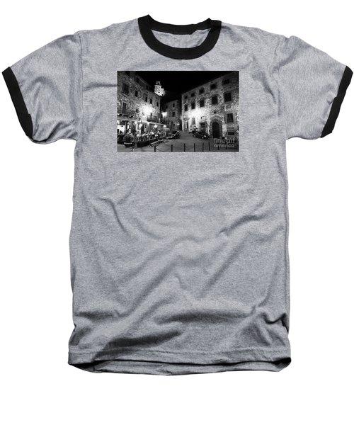 Evening In Tuscany Baseball T-Shirt by Ramona Matei