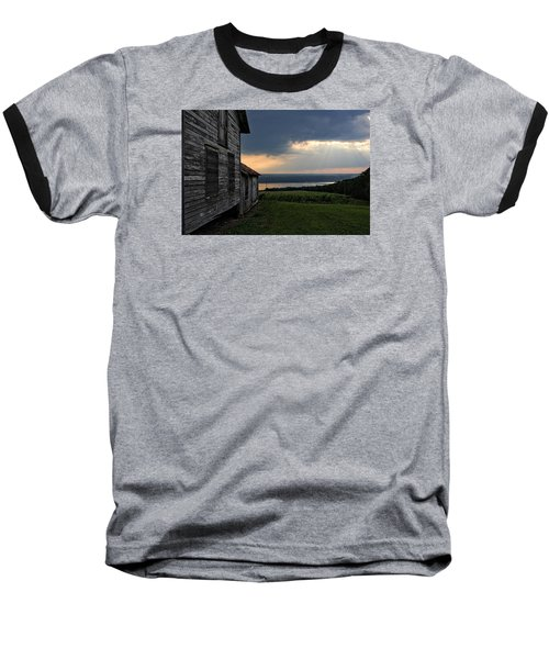 Evening Is Falling Baseball T-Shirt