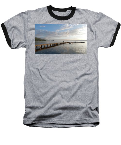 Evening - Lake Ohrid - Macedonia Baseball T-Shirt