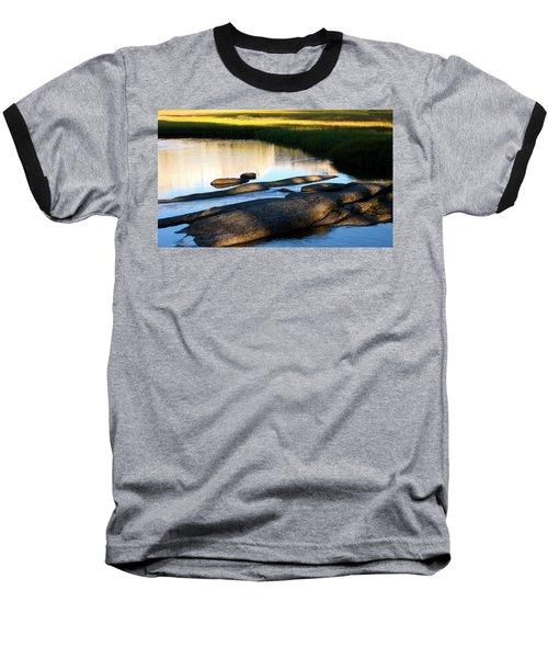Contemplating Sunset Baseball T-Shirt