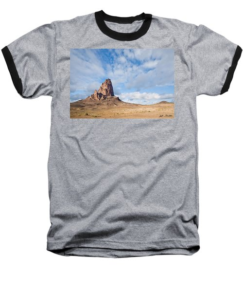 Evening Light On Agathla Peak Baseball T-Shirt