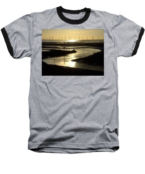 Evening Low Tide 2 Baseball T-Shirt