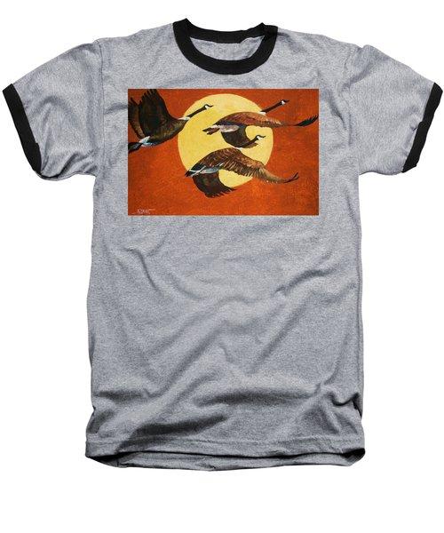 Soaring Migration Baseball T-Shirt