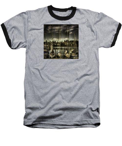 Baseball T-Shirt featuring the photograph Evening Mood by Jean OKeeffe Macro Abundance Art
