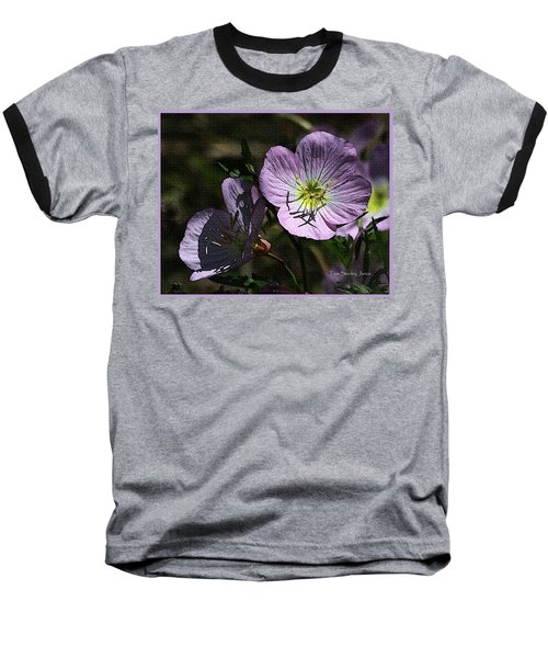 Evening Primrose Baseball T-Shirt