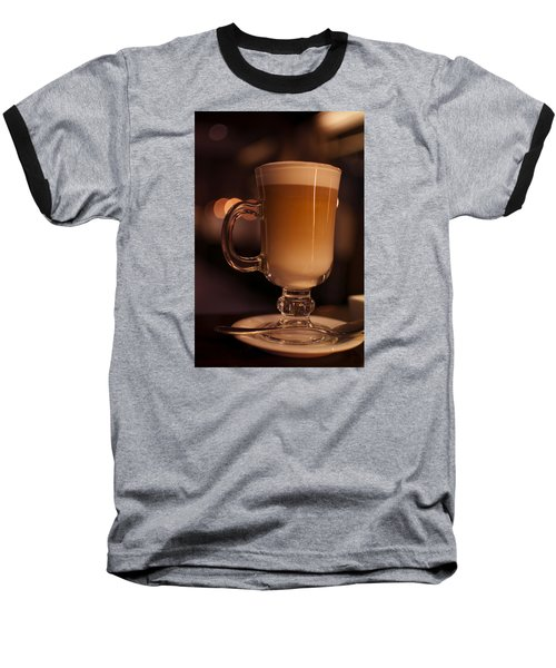 Baseball T-Shirt featuring the photograph Evening Refreshments by Miguel Winterpacht