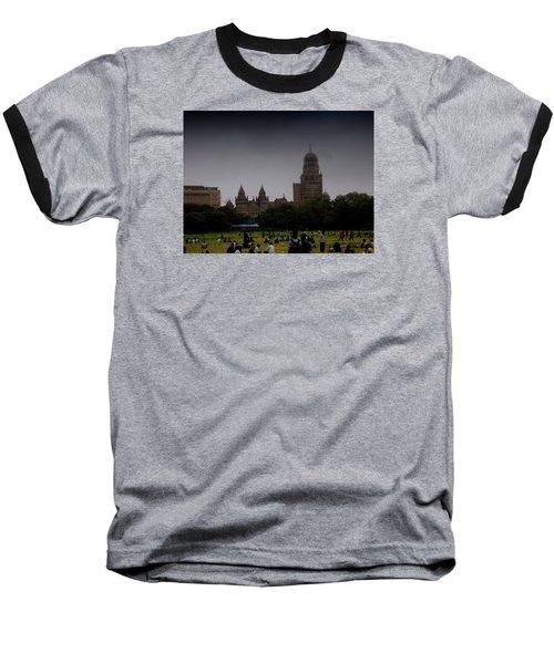Evening Baseball T-Shirt by Salman Ravish