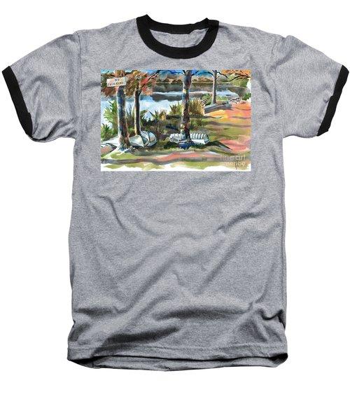 Evening Shadows At Shepherd Mountain Lake  No W101 Baseball T-Shirt