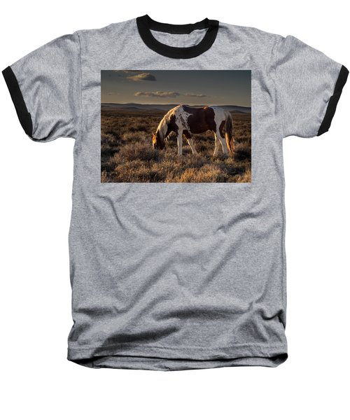 Evening Solitude In Sand Wash Basin Baseball T-Shirt