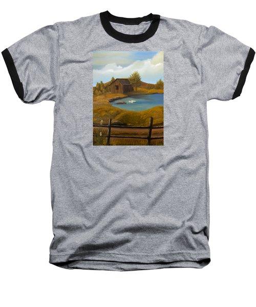 Evening Solitude Baseball T-Shirt by Sheri Keith