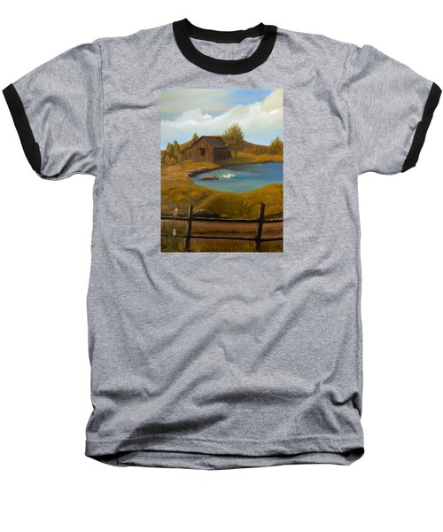 Evening Solitude Baseball T-Shirt