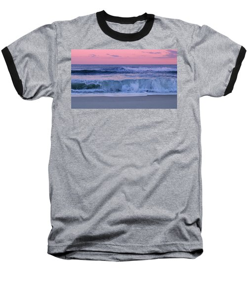 Evening Waves - Jersey Shore Baseball T-Shirt
