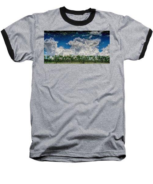 Reflected Everglades 0203 Baseball T-Shirt