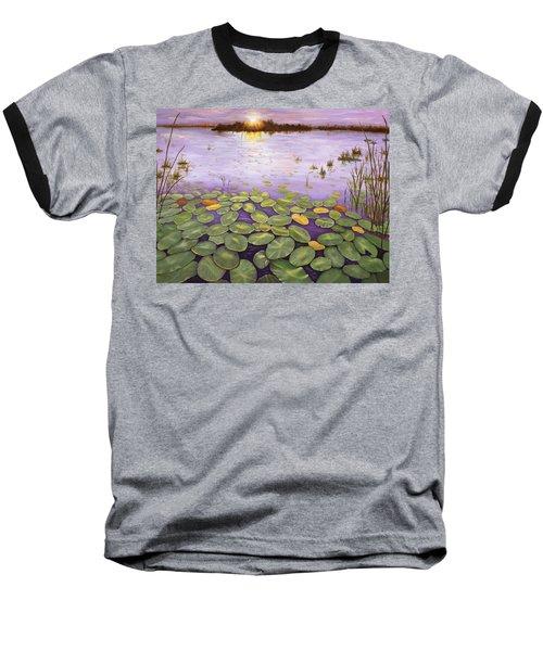 Everglades Evening Baseball T-Shirt
