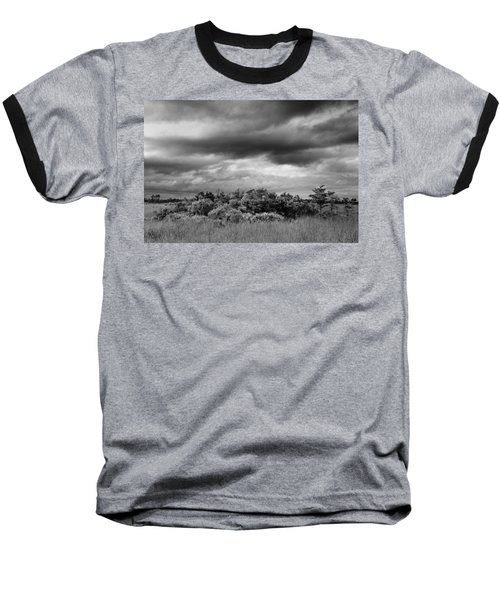 Everglades Storm Bw Baseball T-Shirt