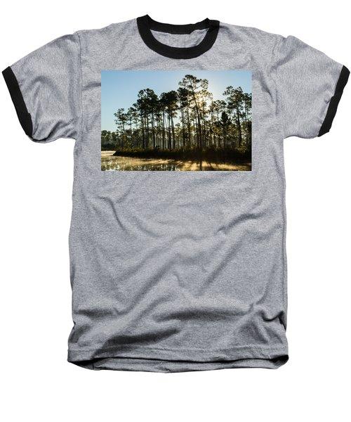 Everglades Sunrise Baseball T-Shirt