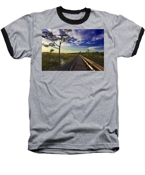 Everglades  Baseball T-Shirt by Swank Photography