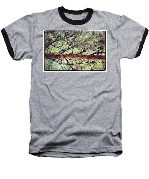 Baseball T-Shirt featuring the photograph Evergreen Bird by Tara Potts