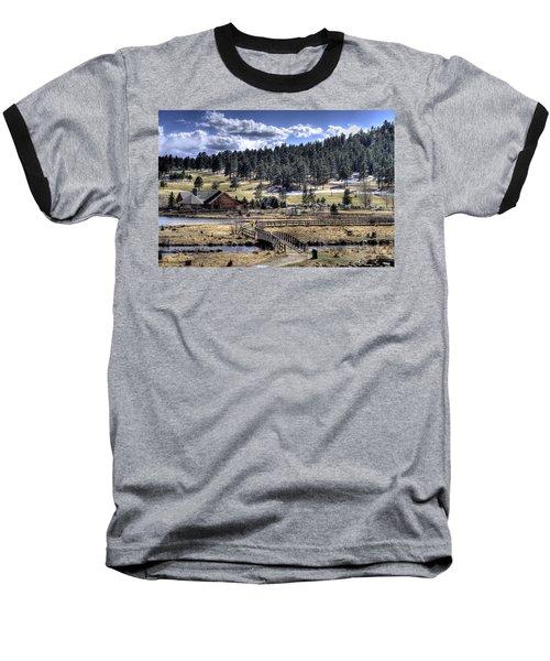 Evergreen Colorado Lakehouse Baseball T-Shirt