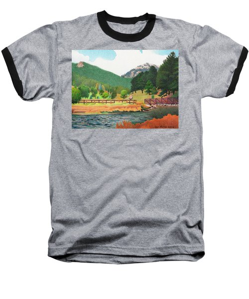 Evergreen Lake Spring Baseball T-Shirt