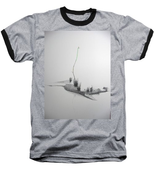 Baseball T-Shirt featuring the painting Evocation by A  Robert Malcom