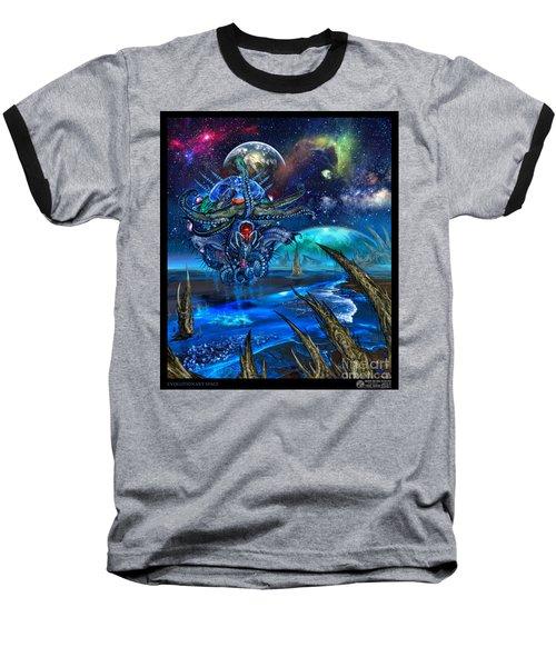 Evolutionary Space Baseball T-Shirt