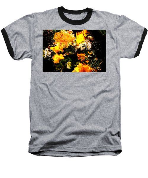 Ex Obscura Baseball T-Shirt by Richard Thomas