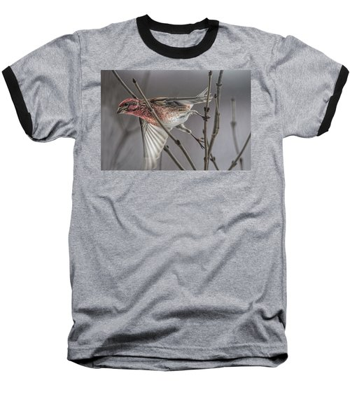 Exit Stage Left Baseball T-Shirt