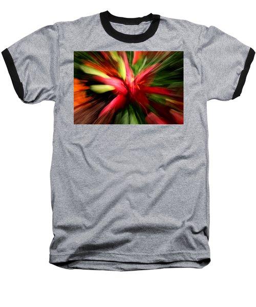 Exploding Lily Baseball T-Shirt