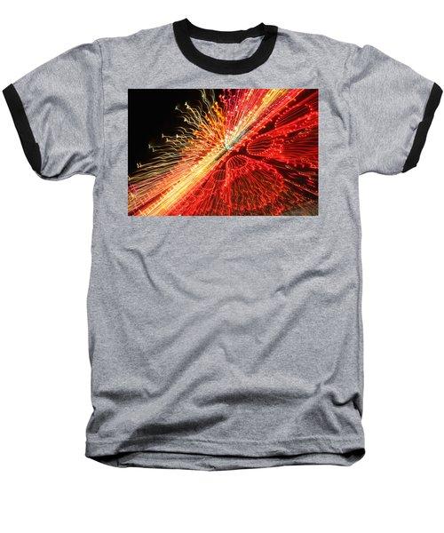 Exploding Neon Baseball T-Shirt