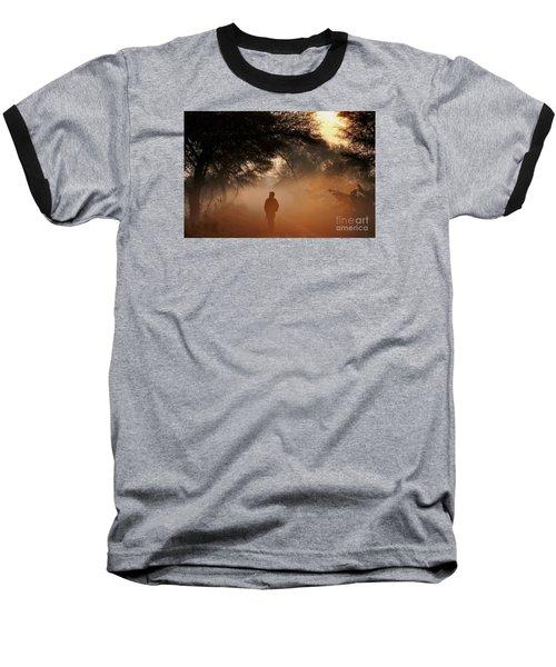 Explorer The Nature Baseball T-Shirt by Manjot Singh Sachdeva