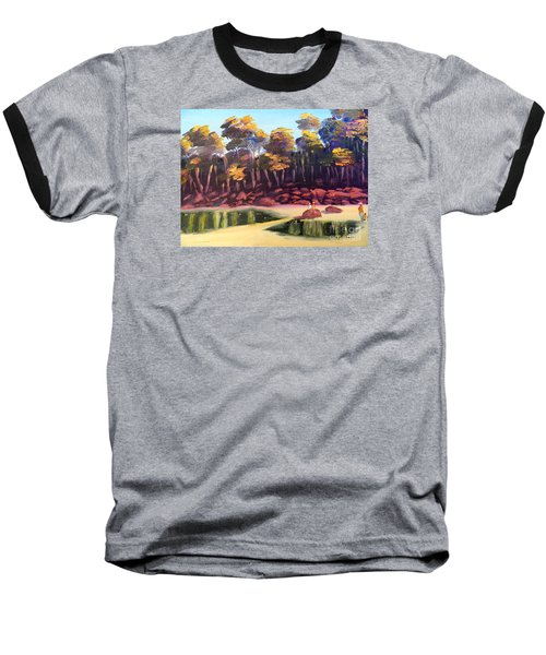 Exploring On Echo Beach Baseball T-Shirt