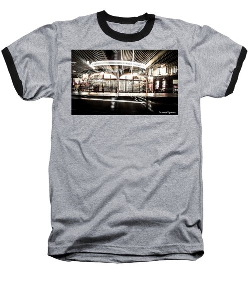 Baseball T-Shirt featuring the photograph Explozoom On A French Carousel by Stwayne Keubrick