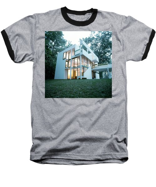 Exterior Of Mr. And Mrs. Jay Hanslemann's Baseball T-Shirt