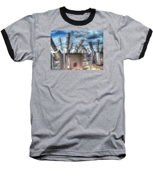 Baseball T-Shirt featuring the photograph Exterminate - Exterminate by MJ Olsen