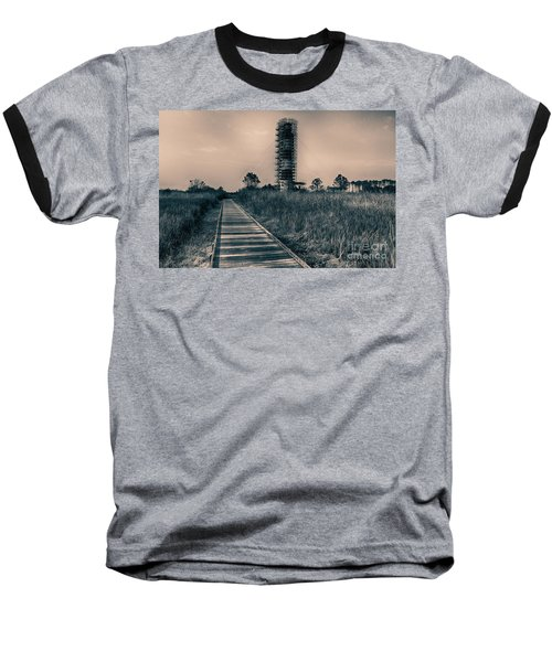 Extreme Makeover Lighthouse Edition Baseball T-Shirt by Tony Cooper