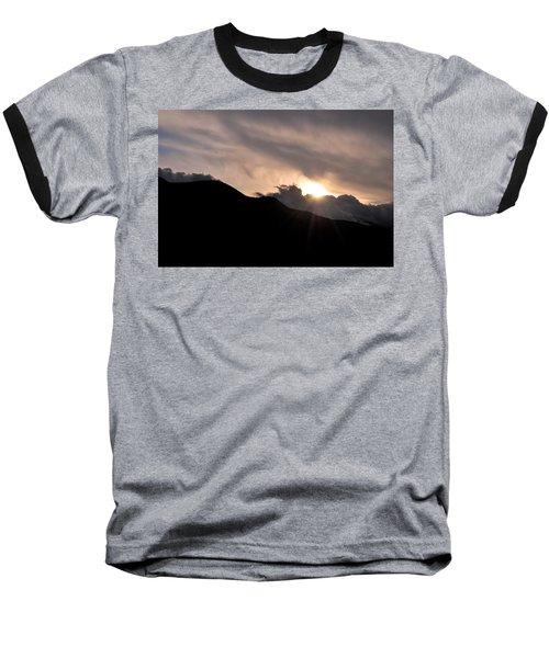 Baseball T-Shirt featuring the photograph Eye In The Sky by Matt Harang