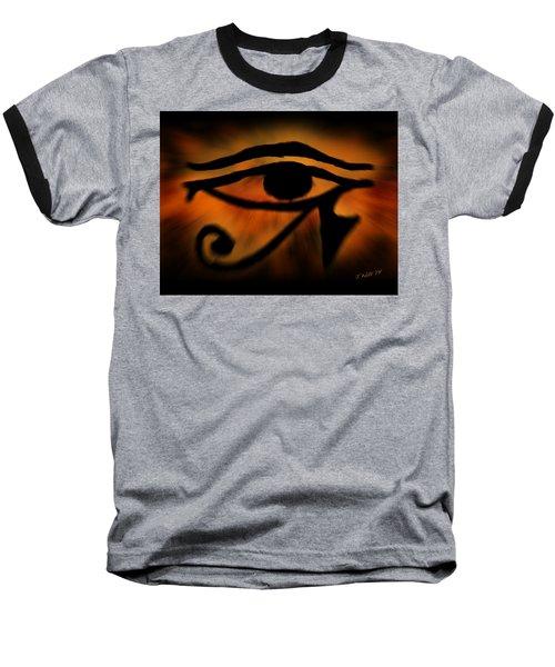 Eye Of Horus Eye Of Ra Baseball T-Shirt