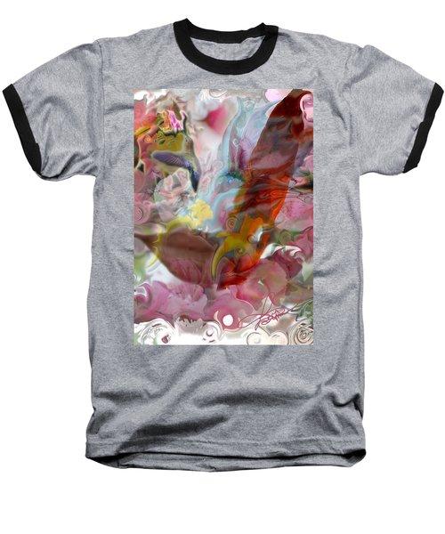 Eye Of Joy Baseball T-Shirt by Deprise Brescia
