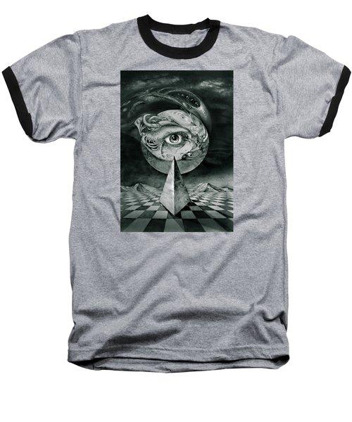 Eye Of The Dark Star Baseball T-Shirt