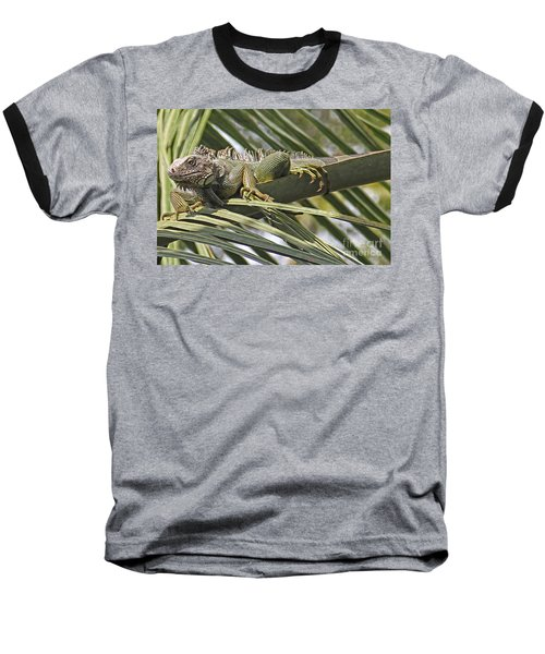 Eye Of The Iguana Baseball T-Shirt