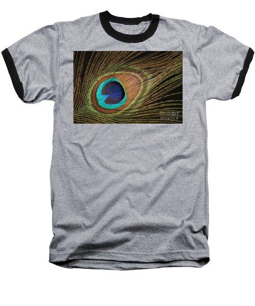 Eye Of The Peacock #5 Baseball T-Shirt