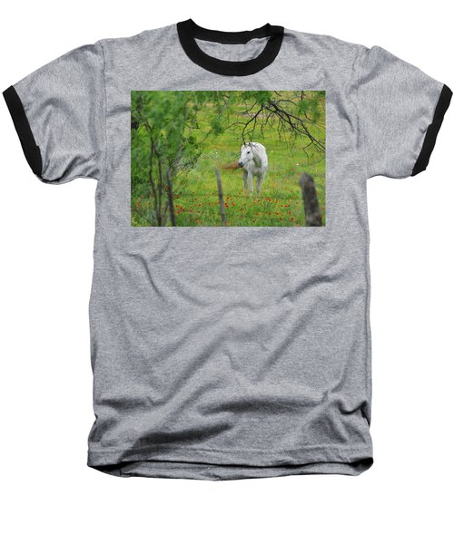 Eye On Beauty Baseball T-Shirt by Lynn Bauer