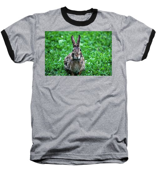 Baseball T-Shirt featuring the photograph Eyes Wide Open by Trina  Ansel